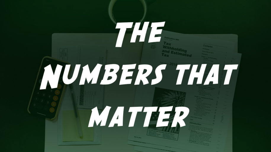 The Numbers That Matter